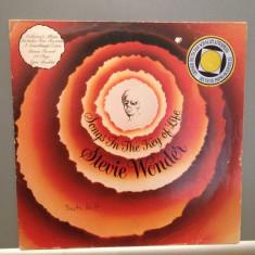 STEVIE WONDER - SONGS IN THE...2LP SET(1976/EMI/RFG) - Vinil/Analog/(VG+ or NM-) - Muzica Rock Electrola