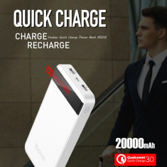 Baterie Externa Quick Charge 3.0  Yoobao M20Q 20000mAh White