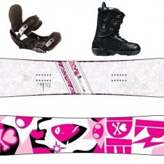 Vând: Snowboard Ride 144 + Legături Burton + Boots Burton 38 - Placi snowboard