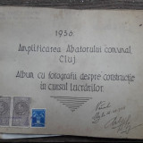 Album cu 36 Poze cu Abatorul Comunal din Cluj-Napoca -1936, Necirculata, Fotografie, Cluj Napoca