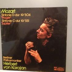 Mozart - Symphony: KV504 & 551 -H.V.Karajan (1972/EMI/RFG) - VINIL/Impecabil(NM) - Muzica Clasica emi records