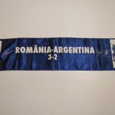 Esarfa fotbal ROMANIA - ARGENTINA - Fular fotbal
