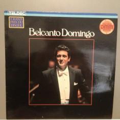 Placido Domingo - Belcanto (1987/TELDEC rec/RFG) - VINIL/Analog/Impecabil(NM) - Muzica Clasica