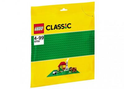 Placa de baza verde LEGO (10700) foto