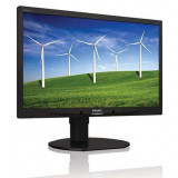 Monitor Philips Brilliance 220B4L, 22 inch, 1680 x 1050, VGA, DVI, Audio, USB, Grad A-, Fara picior