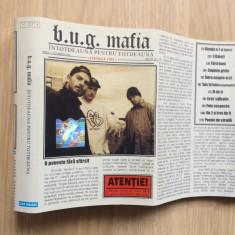 B.u.g. bug mafia intotdeauna pentru totdeauna caseta audio Muzica Hip Hop cat music rap, Casete audio