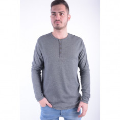 Bluza Bumbac Jack&Jones Giovanni Regular Fit Gri