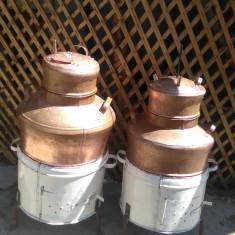 Cazan de tuica din cupru 120 litri - Cazan tuica