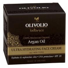 Olivolio Crema de fata cu Ulei de argan Ultra Hidratanta