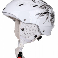 Grap Hockey Helmet – Women alb deco 57-61 - Casca ski Alpina, Femei