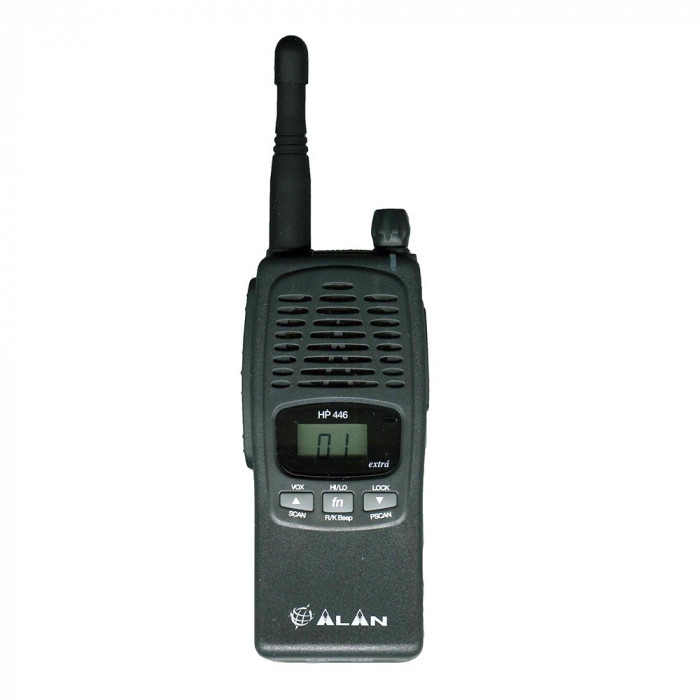 Resigilat : Statie radio UHF portabila Midland Alan HP446 Extra, Cod G815.07