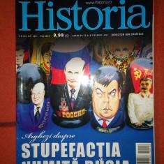 (D) -Revista Historia nr. 148 / mai 2014, Stupefactia numita Rusia - Revista culturale
