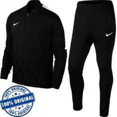 Trening Nike Academy pentru barbati - trening original - treninguri barbati - Trening barbati Nike, Marime: S, Culoare: Negru, Poliester