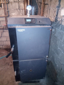 Centrala gazeificare Romstal Vision 30kw+