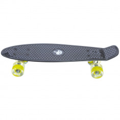 Penny board, Mad Abec-7, roti luminoase Night Black, 24
