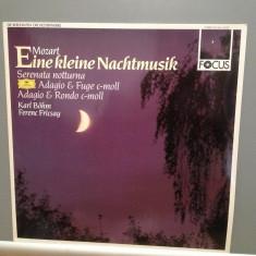 Mozart - Eine Kleine Nacht Music/Serenata...(1987/Polydor/RFG) - VINIL/Impecabil - Muzica Clasica Deutsche Grammophon