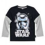 Bluza cu maneca lunga Star Wars negru/gri