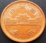 Moneda 10 YENI - JAPONIA, anul 1987 (62)   *cod 1666