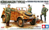 + Macheta 1/35 Tamiya 89750 - Kubelwagen German Field Military Police +
