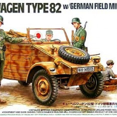 + Macheta 1/35 Tamiya 89750 - Kubelwagen German Field Military Police + - Macheta auto