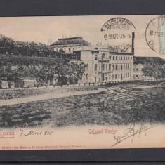 BUCURESTI COLOSEUL OPPLER RESTAURANT SI FABRICA DE BERE OPPLER TCV CIRC.1905 - Carte Postala Muntenia pana la 1904, Circulata, Printata