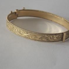 Bratara placata cu aur 9K 50 MICRONI -2642 - Bratara placate cu aur