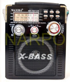 Radio MP3 USB FM AM SW card WAXIBA XB-1051UR cu acumulator, Analog, 0-40 W