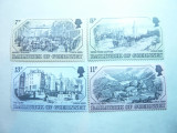 Serie I - Vederi vechi 1978 Guernsey , 4 valori