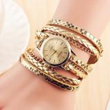 CEAS Casual Elegant Dama Geneva Bracelet Tip Bratara 5 CULORI NOU - Ceas dama, Mecanic-Manual, Inox, Piele ecologica, Cronograf