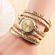 CEAS Casual Elegant Dama Geneva Bracelet Tip Bratara 5 CULORI NOU, Mecanic-Manual, Inox