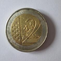 Vatican 2 Euro 2001 Specimen, Europa, Cupru-Nichel