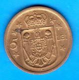 (MR51) MONEDA ROMANIA - 5 LEI 1930 KN, REGENTA , MIHAI I