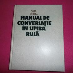 Manual De Conversatie In Limba Rusa / Sima Borlea