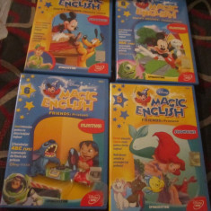 Dvd magic english 14 numere aproape noi - Film animatie productii romanesti, Romana