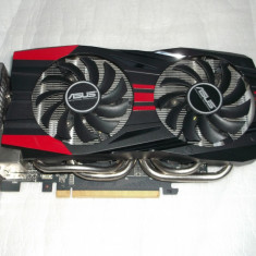 Placa video ASUS GeForce GTX 760 DirectCU II OC 2GB DDR5 256-bit DX11 - Placa video PC Asus, PCI Express, nVidia