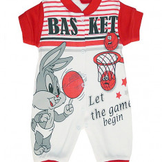 Salopeta bebelusi cu imprimeu Bugs Bunny COD HB157