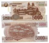 SV * Coreea de Nord  5000  WON  2013     UNC