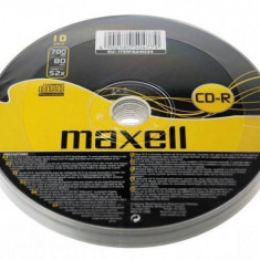 Mediu optic Maxell CD-R 700MB 52x 10 bucati - CD Blank