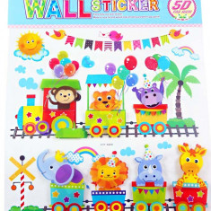 Sticker 5D Happy Birthday pentru camera copilului