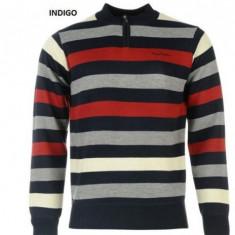 Bluza Pulover Barbati Pierre Cardin Stripe original - marimea L - Bluza barbati, Marime: L, Culoare: Multicolor