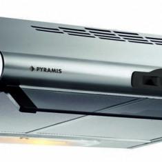 Hota Pyramis ES1 2 motoare 3 viteze 273mc/h Inox, 30-60 cm, Numar motoare: 2