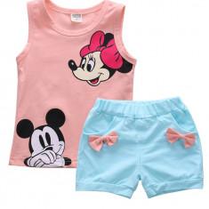 Costum 2 piese cu Mickey si Minnie Mouse HF314