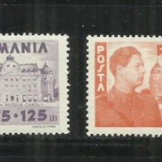 ROMANIA 1945 - LP.166 - Timbre Romania, Nestampilat