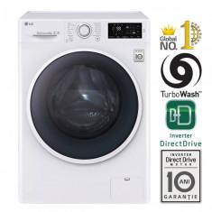 Masina de spalat rufe LG F14U2TDN0 A+++ 1400 rpm 8kg alba, 1300-1500 rpm, A+++