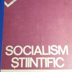RWX 31 - SOCIALISM STIINTIFIC - DOCUMENT AL PCR - 1985 - PIESA DE COLECTIE! - Carte Epoca de aur