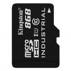 Card Kingston Industrial microSDHC 8GB 20 Mbs Clasa 10 UHS-I U1 - Card memorie foto