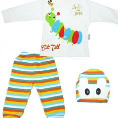 Costum bebelusi din 3 piese HB222, Marime: 3-6 luni