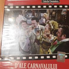 Film DVD D'ale carnavalului. Jurnalul National. Colectia Cinemateca - Film Colectie, Romana