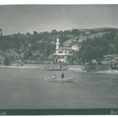 953 - Dobrogea, BALCIC, Royal Palace - old postcard, real PHOTO - used, Circulata, Fotografie