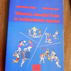 Gheorghe Jinga Cristiana Pop Didactica educatiei fizice in invatamantul superior - Carte sport